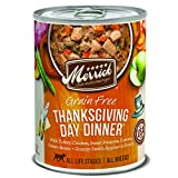 Merrick Grain Free All Breed Sizes Wet Dog Food Thanksgiving Day Dinner - (12) 12.7 oz Cans