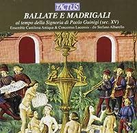 BALLATE E MADRIGALI