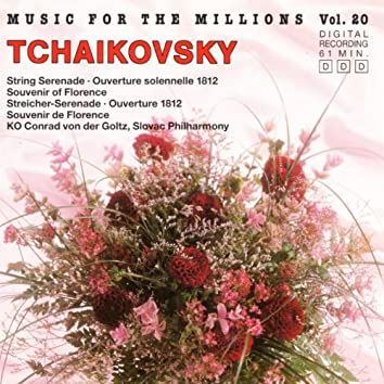 Music For The Millions Vol. 20 - Piotr I. Tchaikovsky