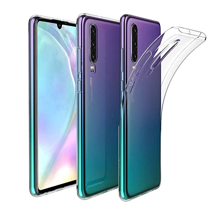 Amaping Ultra Clear Transparent Soft Rubber Slim TPU Case Cover For Huawei P30/ P30 Pro (6.1 INCH)