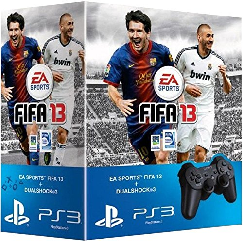 Manette PS3 Dual Shock 3 + Fifa 13