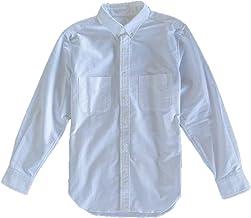 【ONESELF】リハビリメンズ シャツ 100%綿 片手で簡単着脱 オックスフォード ボタンダウン 長袖シャツ
