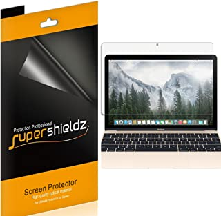 (3 Pack) Supershieldz Anti Glare and Anti Fingerprint (Matte) Screen Protector Shield for Apple MacBook 12 inch with Retina Display (2015, 2016, 2017) (A1534)