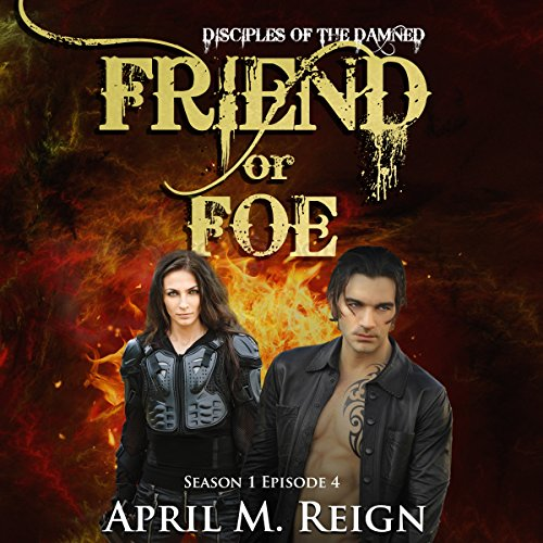 Friend or Foe audiobook cover art