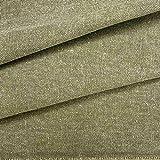 Kt KILOtela Tela de tapicería Lisa - Panamá algodón - Acabado Desgastado, Envejecido - Retal de...