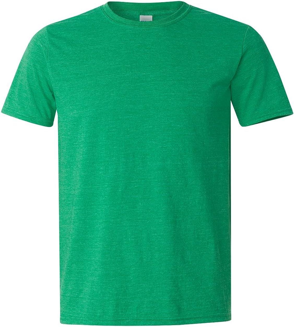4.5 oz. T-Shirt (G640) Heather Irish Green, M (Pack of 12)