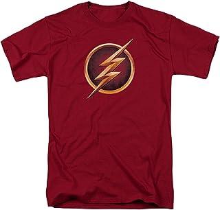 The Flash Chest Logo Mens Short Sleeve Shirt