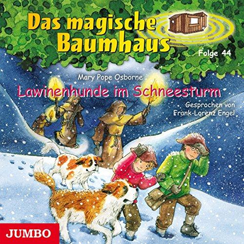Lawinenhunde im Schneesturm (Das magische Baumhaus 44) Titelbild