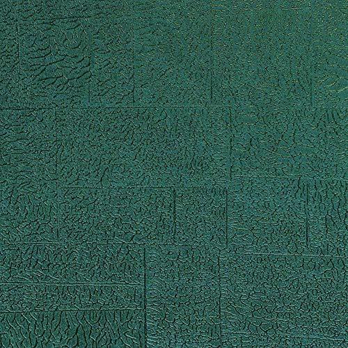 82536202 - Papel pintado Enciclopedia Vines Cuadrados Azul Casadeco