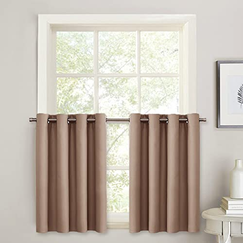 Thermal Blackout Cafe Curtain: Amazon.com