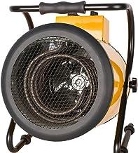 Joyfitness Calentador de Ventilador de Alta Potencia Industrial Calentador eléctrico de Pistola de Aire Caliente de Secado Cría de Hogares Constante Temperatura de la Estufa de Aire Caliente,30KW