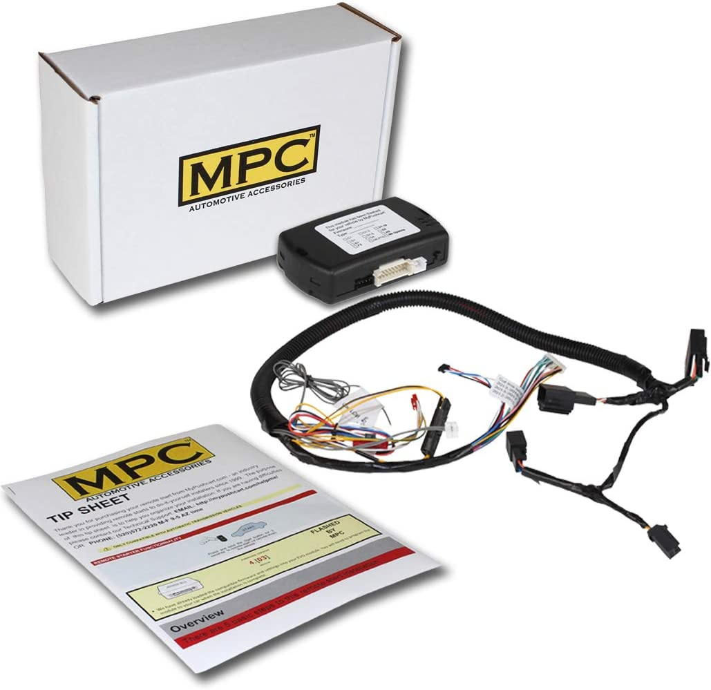 MPC Factory Remote At the price Activated Start Max 60% OFF Kit for 2008-2012 Ford