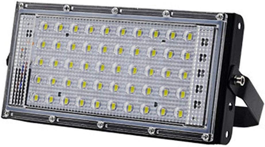 Free Shipping Cheap Bargain Gift Exanko Portable LED Flood Light 50W Il Large Projector Lamp Area 4 years warranty