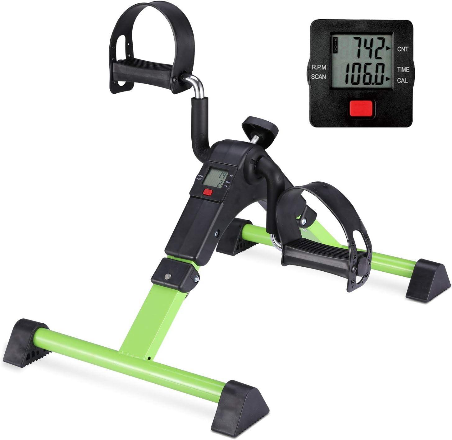 trust Special sale item MOMODA Under Desk Bike Pedal Exerciser Ped Leg Arm for Mini