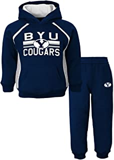 Outerstuff BYU Cougars NCAA Classic Fan Pullover Hoodie & Pants (2) Piece Set Boys (4-7)