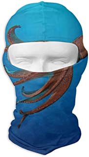 Balaclava Dog Art Paw Full Face Masks UV Protection Ski Hat Cap Womens Mens Snowboard for Motorcycle