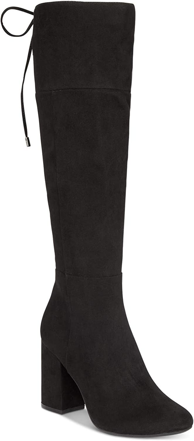 Kenneth Cole REACTION Womens 7 Corie Lace Closed Toe Knee High Fashion Boots