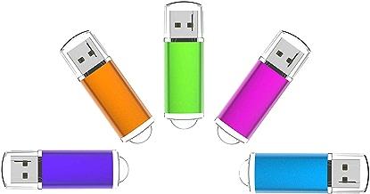 8G USB Flash Drive 5 Pack Easy-Storage Memory Stick K&ZZ...