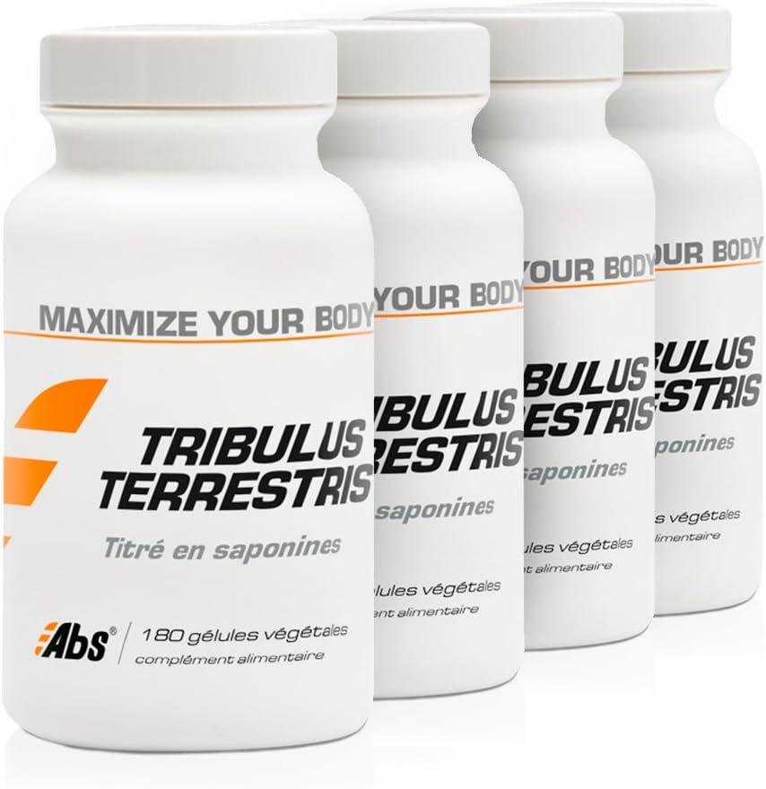 TRIBULUS TERRESTRIS OFERTA 3+1 GRATIS | 470 mg / 720 cápsulas | Energia (fatiga), Rendimiento deportivo (dolores musculares) | Fabricado en Francia