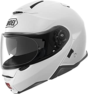 Shoei Neotec II Flip-Up Motorcycle Helmet White Large (Additional Size and Colors)