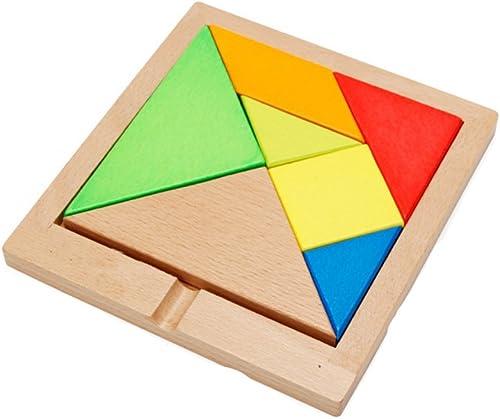 Sunasd Massivholzpuzzlebausteine   ernes PuzzlespiellehrsatzGröße Kinderfrühkindliche Bildung Jungen und mädchen H ernes Puzzlespiel 155 × 143Mm