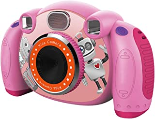 Goolfly Kids Camera Children Camcorders HD 2'' Screen with SD Card Non-Slip and Anti-Drop Design Kid Cameras for Girls & Boys