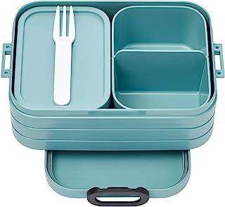 Rosti Mepal 107632192400 bento boîte à déjeuner Take a Break midi-Nordic Green, Plastique, 900 ml