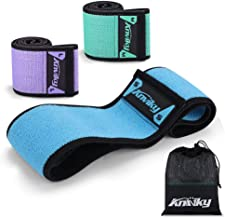 Booty Bands 2019 Upgraded, Hip Resistance Bands Set Fabric Soft & Non Slip Design for Legs and Butt