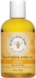 Burt's Bees Baby Bee Nourishing Baby Oil - 4 fl oz - 2 Pk