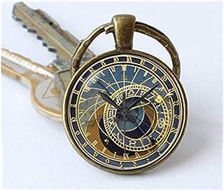 we are Forever family Llavero de reloj, llavero de reloj, llavero steampunk, joyería de reloj, llavero steampunk, regalo s...