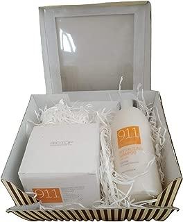 Biotop 911 Quinoa Set Mask 550ml 18.59fl.oz Shampoo 500ml 16.9fl.oz with Special Gift Box for Christmas