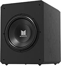 Monolith M12-S Sealed Powered Subwoofer - 12 Inch, 500 Watt, THX Certified