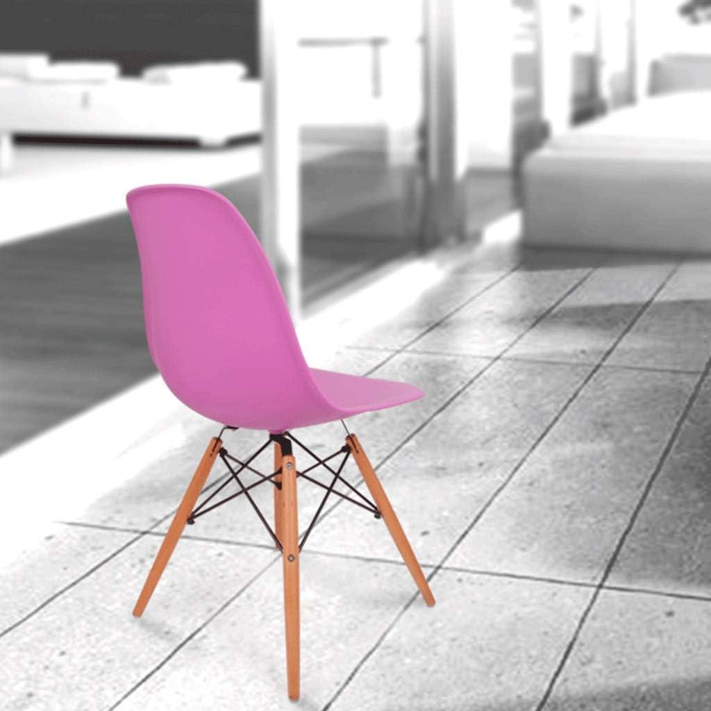 HUANGDA Chaise design vintage, cuisine inspirée de la Tour Eiffel, bureau, salon, salle de réunion, etc, 6 couleurs, HUANGDA (bleu) (Color : C) B
