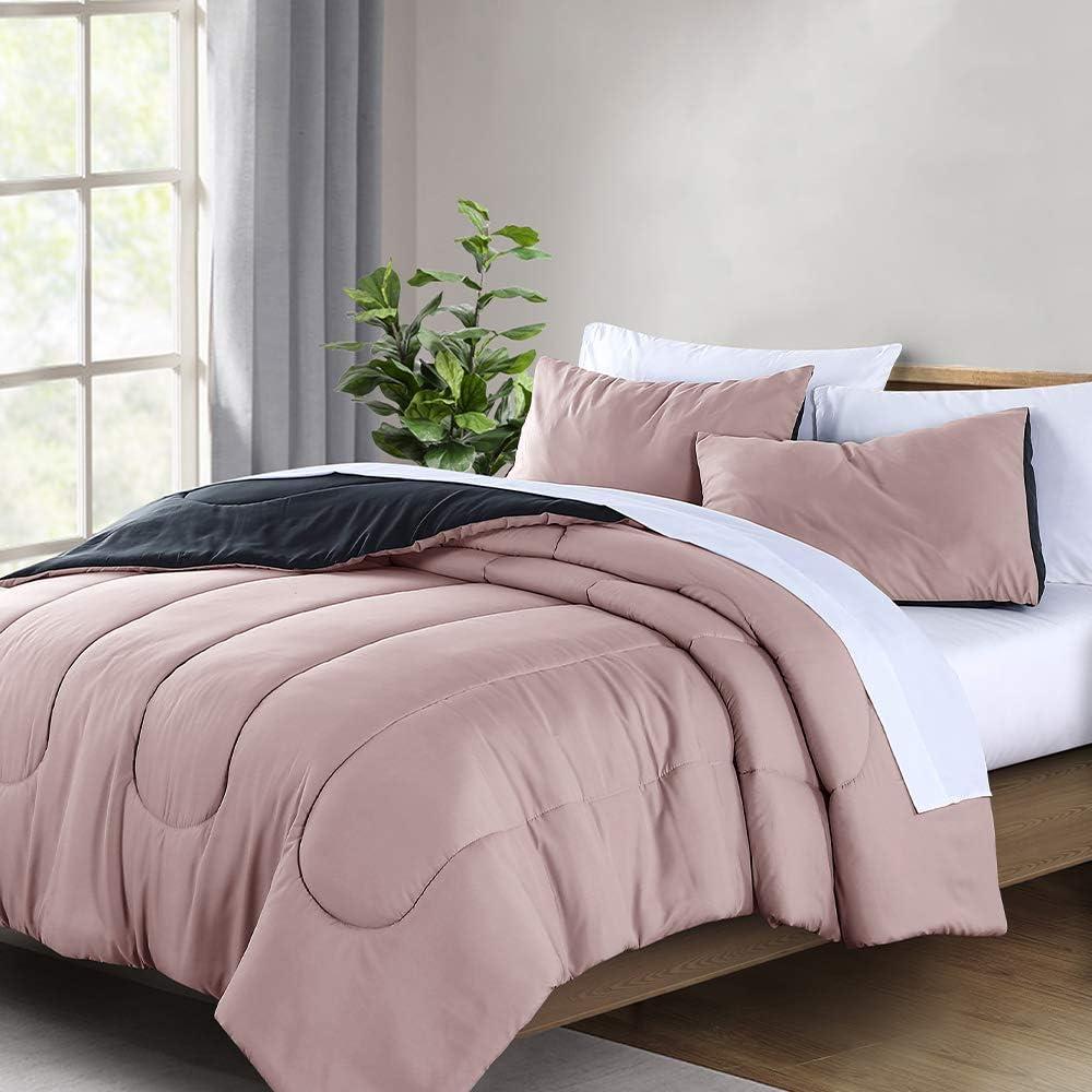 Wellbeing Queen Comforter It is very popular Set 3 Reversible NEW Siz Pieces Full