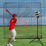 Heater Sports Big League Drop Toss Pitching Machine and Big Play Practice Net