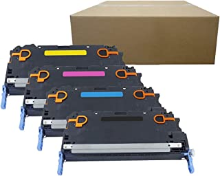 Inktoneram Compatible Toner Cartridges Replacement for HP 3800 501A 503A Q6470A Q7581A Q7583A Q7582A Color LaserJet 3800dn 3800dtn 3800n CP3505dn CP3505n CP3505x ([Black,Cyan,Magenta,Yellow], 4-Pack)
