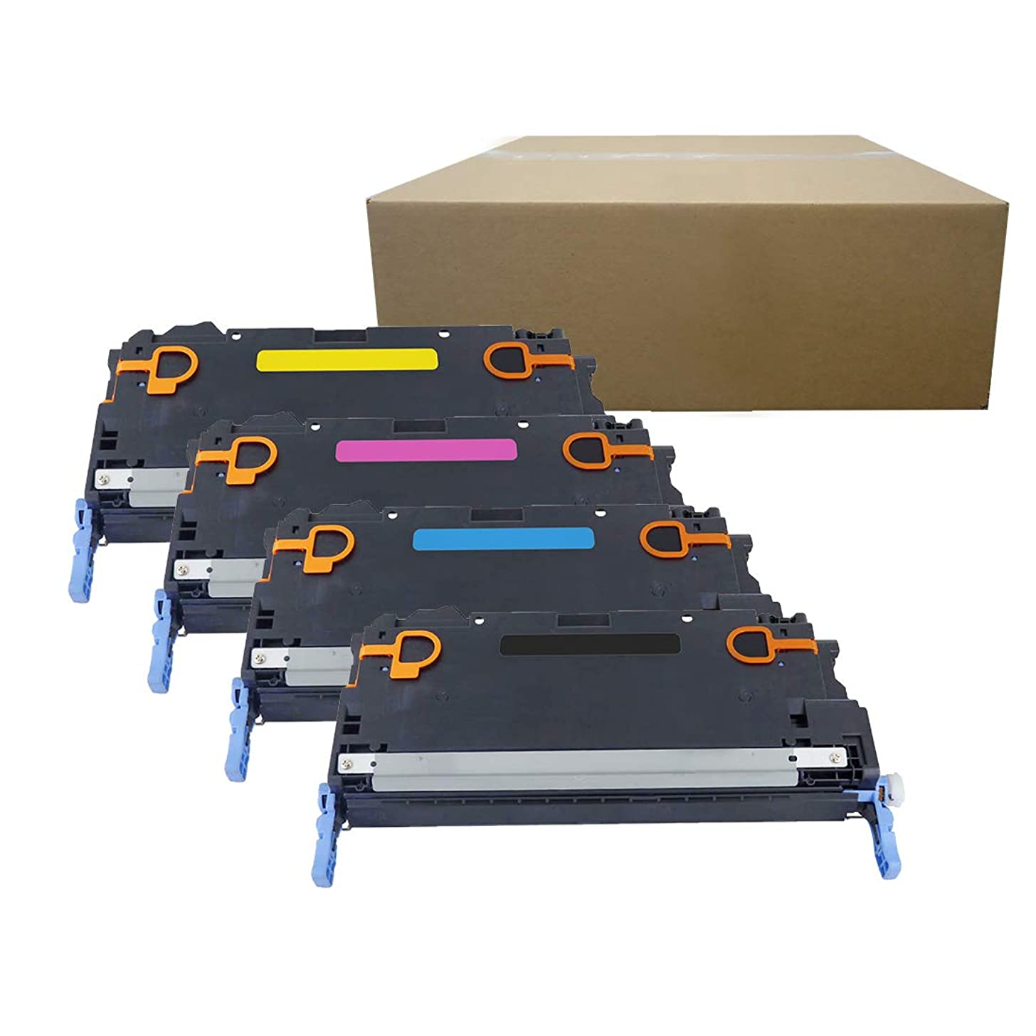 Inktoneram Compatible Toner Cartridges Replacement for HP 3800 501A 503A Q6470A Q7581A Q7583A Q7582A Color LaserJet 3800dn 3800dtn 3800n CP3505dn CP3505n CP3505x ([Black,Cyan,Magenta,Yellow], 4-Pack)