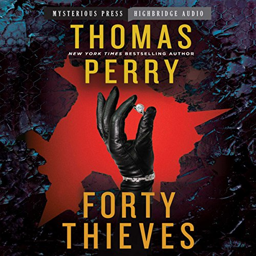 Forty Thieves audiobook cover art