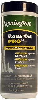 Remington (18922) Oil Pro3 Premium Lubricant & Protectant 60 Ct Pop Up Wipes