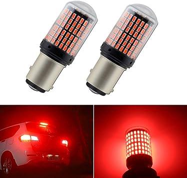 Brake Stop Light 1157 2057 7528 P21//5W Red 5W Cree LED Bulb W1 For GM JAE