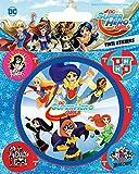 1art1 DC Comics Poster-Sticker Autocollant - Super Hero Girls, Attack (12 x 10 cm)