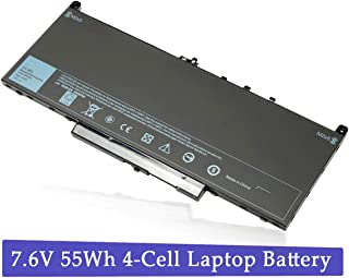 J60J5 Laptop Battery for Dell Latitude E7270 E7470 Series 451-BBSY 451-BBSX 451-BBSU ; P/N:WYWJ2 MC34Y 0MC34Y 1W2Y2 242WD Notebook 7.6V 55WH