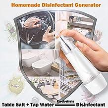GKD USB Portátil De 84 Electrolítica del Agua Desinfección Máquina Ácido Hipocloroso Maquina De Agua Casa Y Jardín Mesa De Sal Y Agua Electrolizada Agua