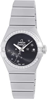 Constellation Chronometer Star Black Dial Stainless Steel Ladies Watch 12315272001001