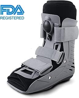 ExoArmor Walking Boot - Ultralight Design with Inflatable Liner. Short Rise (Medium)