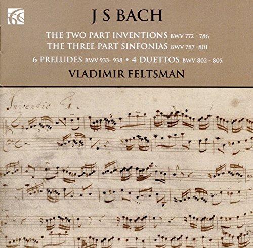 Inventions à deux voix, BWV772-786 - Inventions à trois voix, BWV787-801 - Petits Préludes, BWV933-938 - Duos, BWV802-805