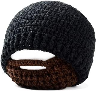 Unisex Funny Wind Detachable Beard Hand-Knit Hat