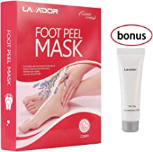 Foot Peel Mask,Peeling Off Calluses and Dead Skin,Get Soft Touch Smooth and Beautiful Feet, Exfoliating Foot Mask,Repair Rough Heels for Men and Women(2 Pack)