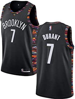 Forever Collectibles Mens Brooklyn Nets #7 Kevin Durant Jersey for Men Women Youth City Edition