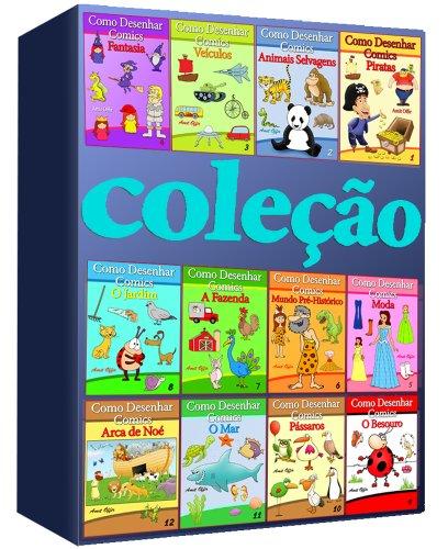 Como Desenhar Comics: (Coleção de 12 Livros) (Livros Infantis - Coleção Livro 1)